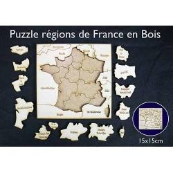 Puzzle des nouvelles régions de france